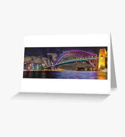 Vivid Sydney Greeting Card