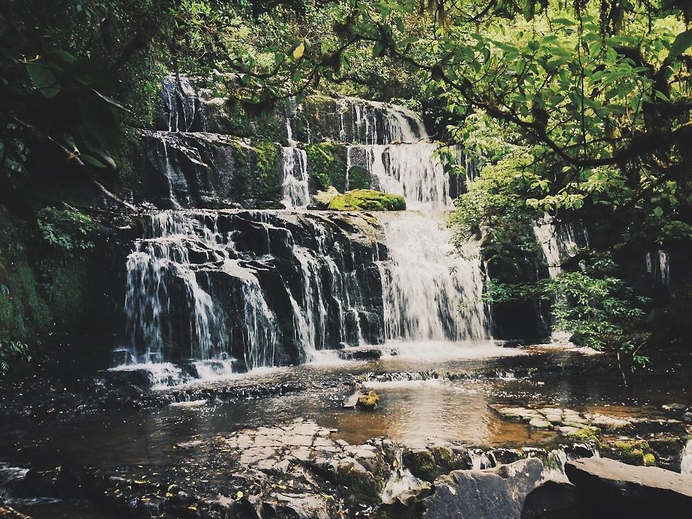 Purakaunui Falls by Emm2702