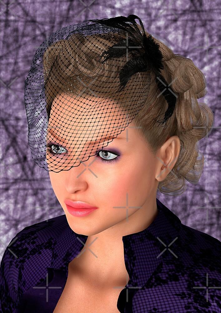 Lady in Purple by Vac1