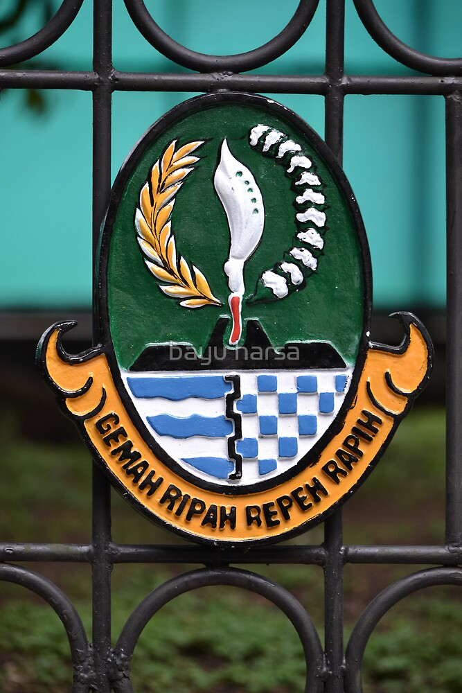 official government logo of west java province by bayu harsa