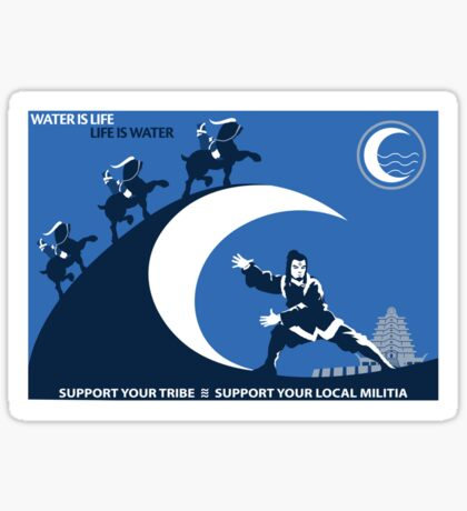 Support Your Local Water Tribe Sticker