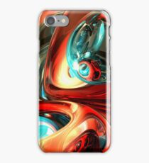 Slippery Abstract iPhone Case/Skin
