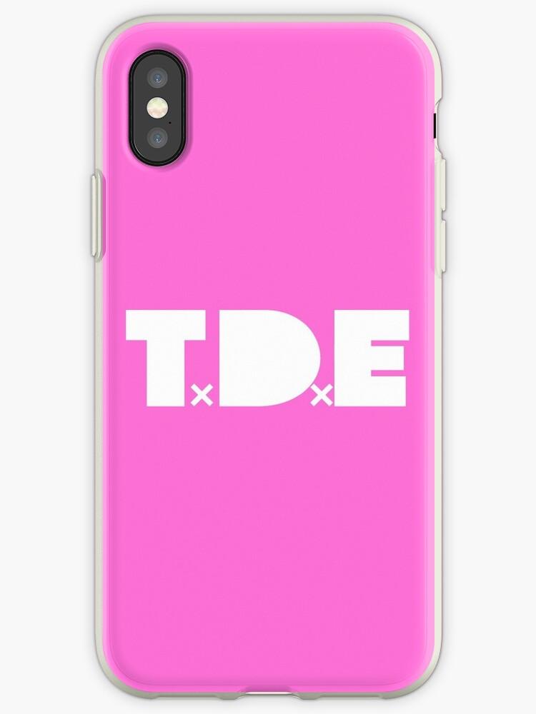 TDE Girls Phone Case by GrapeBeats