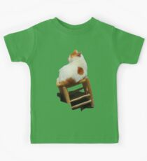 Cat playing perched Kids Tee