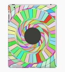 Colorful whirlpool abstract design iPad Case/Skin