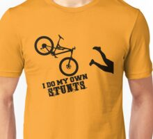 I Do My Own Stunts Funny Mountain Bike Unisex T-Shirt