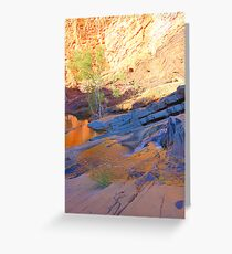 Hamersley Gorge HDR Greeting Card