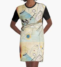 Kandinsky painting Graphic T-Shirt Dress