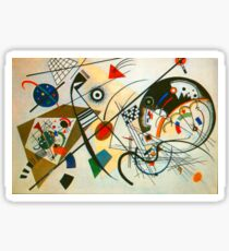 Kandinsky painting Sticker