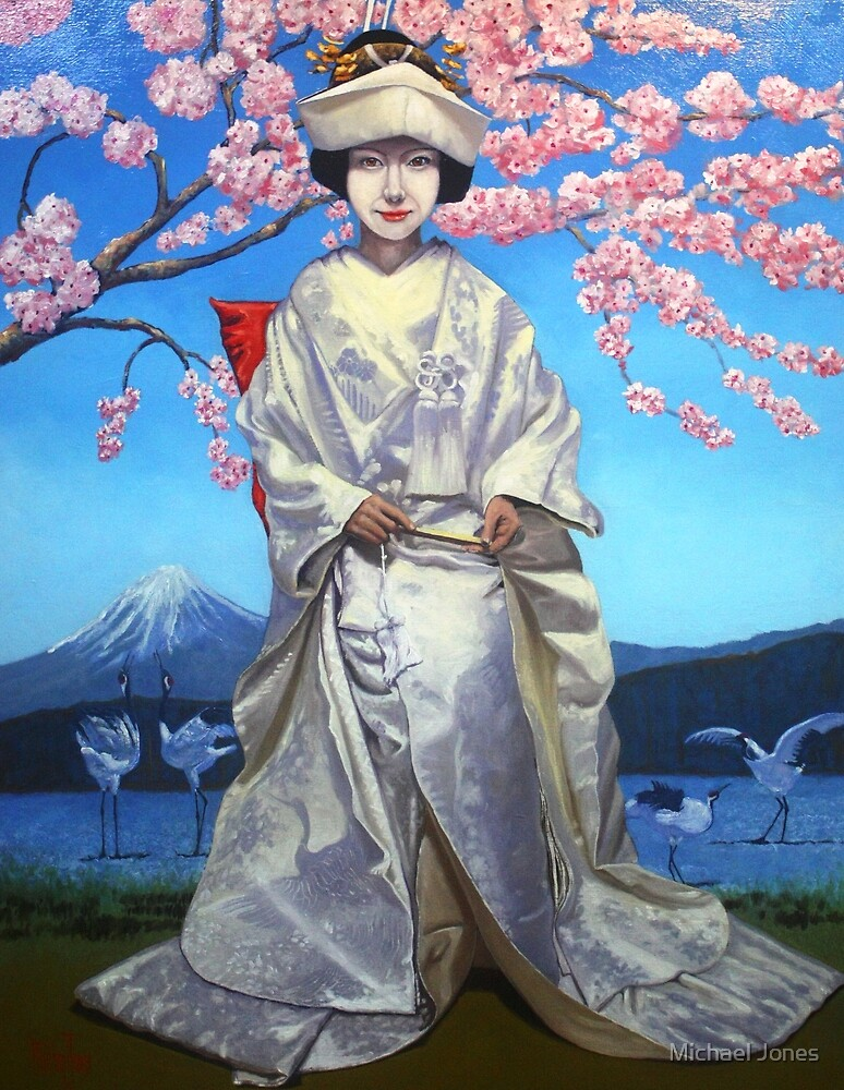 The Japanese Bride (re-worked) by Michael Jones