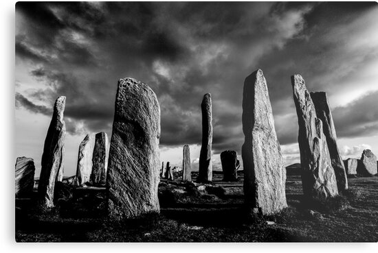 Callanish Isle of Lewis 2 by Peter Moore