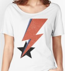 Aladdin Star Bowie Women's Relaxed Fit T-Shirt