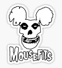 I Want Your Cheese! Mousefits Logo Sticker