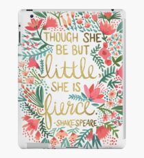 Little & Fierce iPad Case/Skin