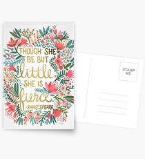 Little & Fierce Postcards