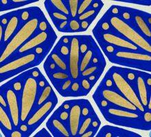 Sea Turtle – Navy & Gold Sticker
