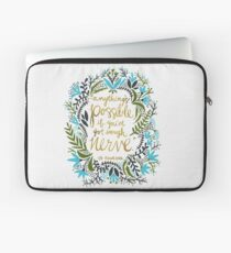 Anything's Possible Laptop Sleeve