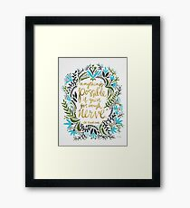 Anything's Possible Framed Print