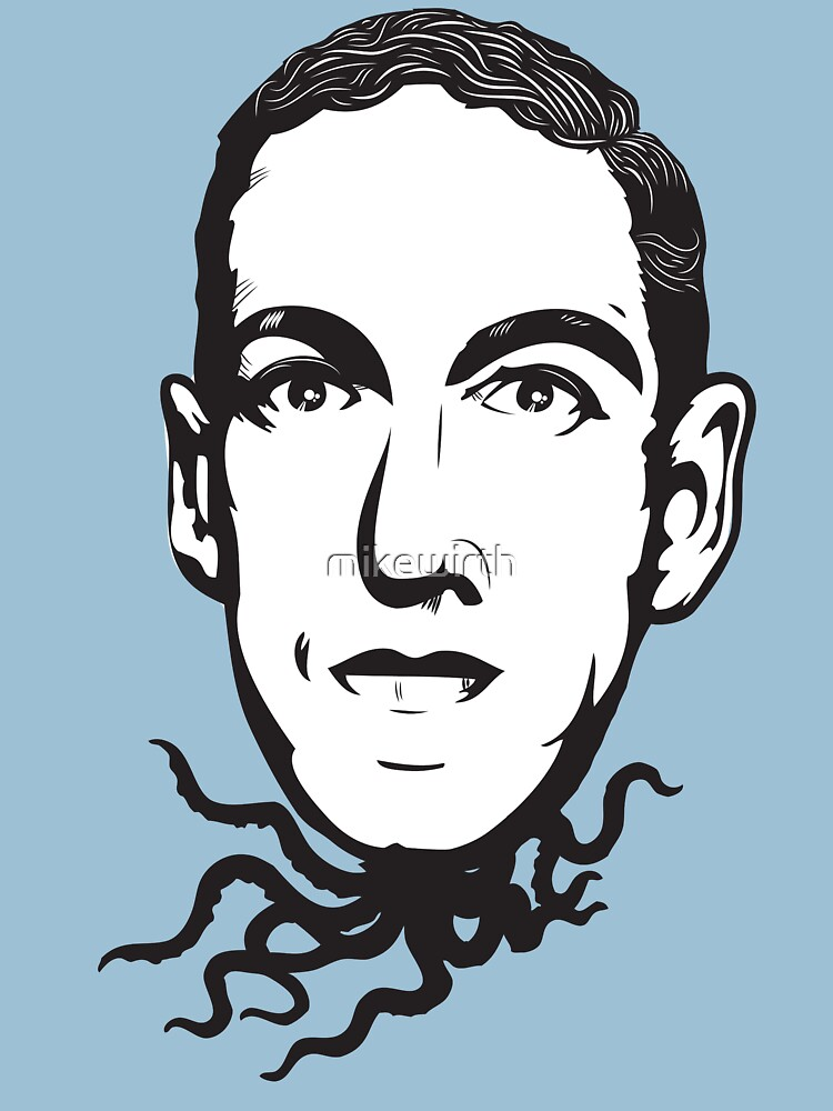H.P. Lovecraft by mikewirth