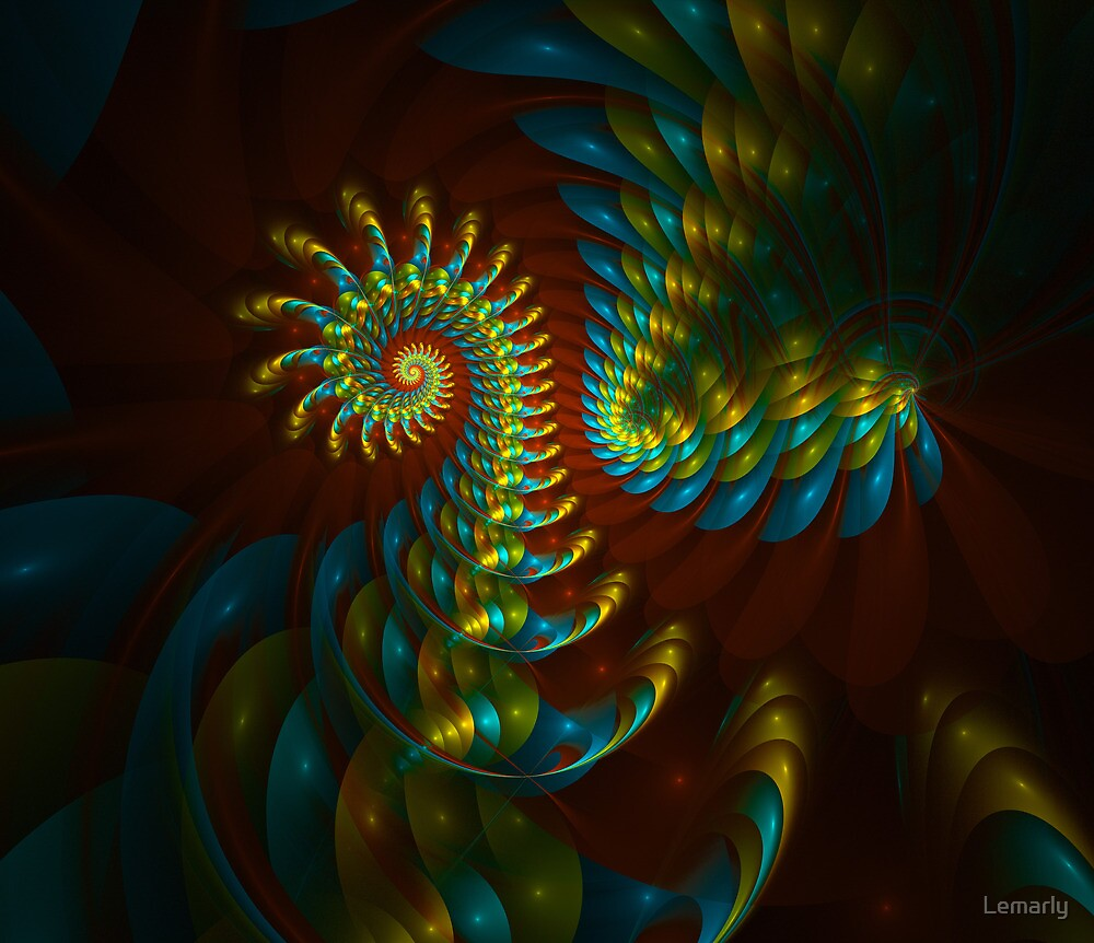 Summer of Peacock by Lemarly