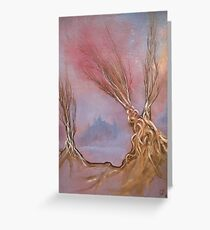 5202 Arborial fantasy Greeting Card