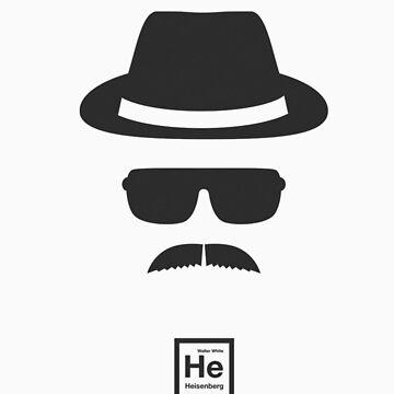 Breacking Bad- Heisenberg Logo by TrailBrazzer
