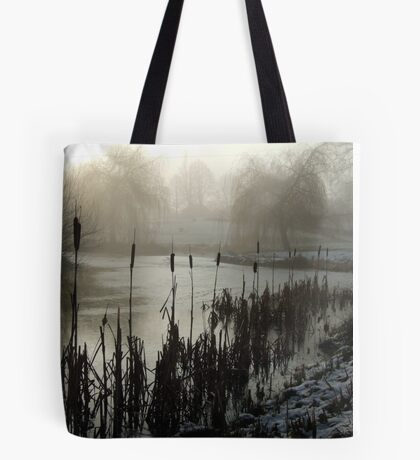 Morning on the Golf Course Tote Bag