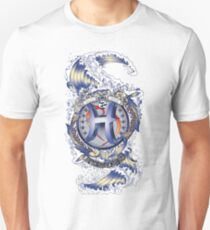 PISCES Aquatic Zodiac sign Unisex T-Shirt