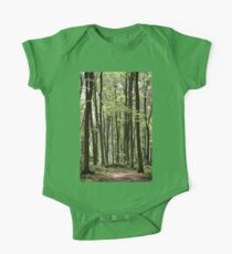 Path Through The Wood One Piece - Short Sleeve