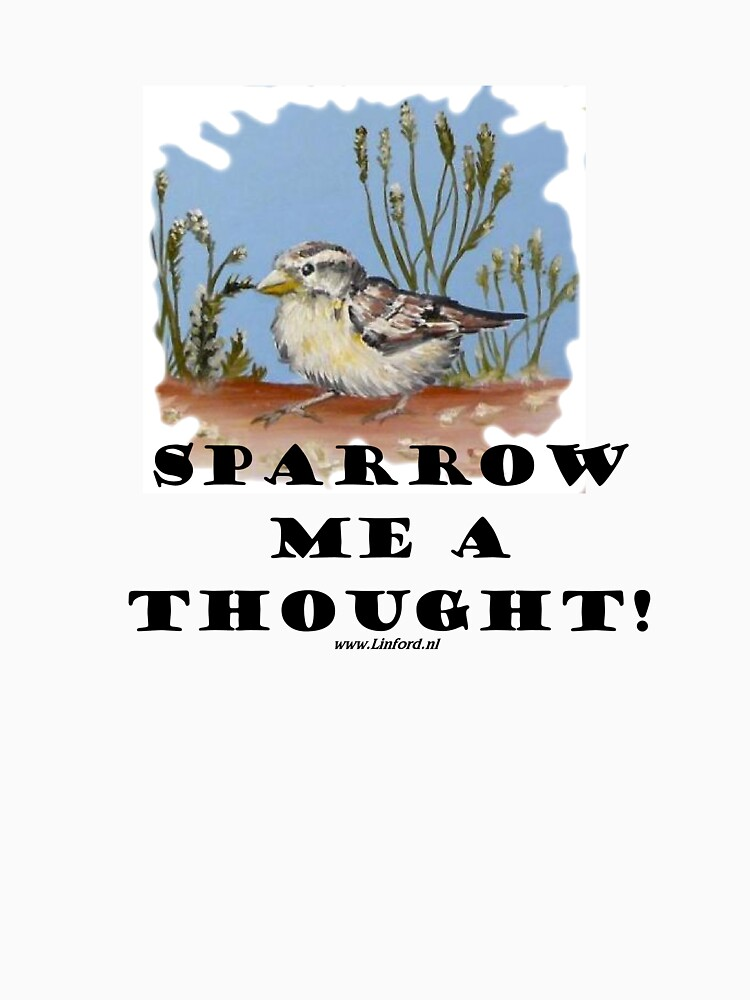 Sparrow me a thought by chrislinford