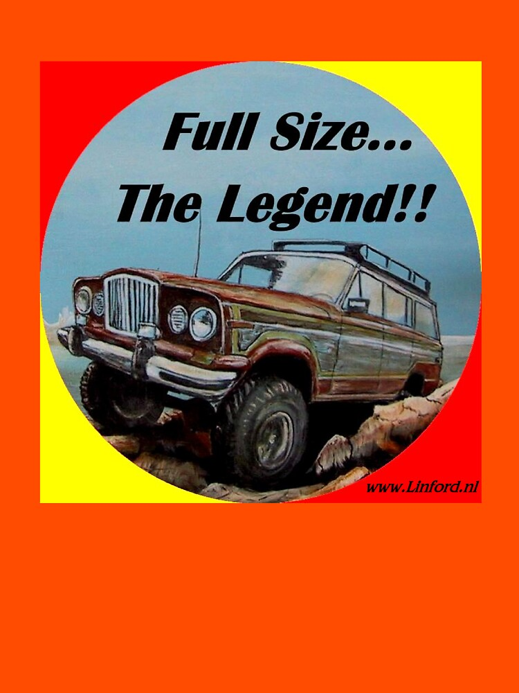 Full size Jeep, the Legend by chrislinford