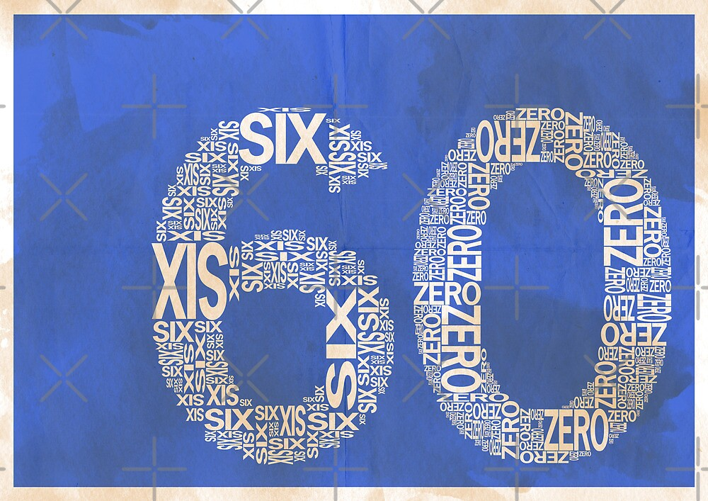 60 by axemangraphics