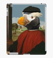 Birders Rule - Tufted Puffin in Red iPad Case/Skin