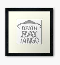 Death Ray Tango Logo Framed Print