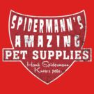 Hank Spidermann's Pet supplies by SixPixeldesign