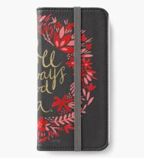 Coffee on Charcoal iPhone Wallet/Case/Skin