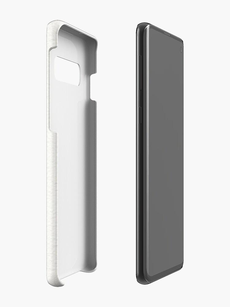 Alternative Ansicht von Was auch immer sein wird, wird (Gold Ink) sein Hüllen & Klebefolien für Samsung Galaxy