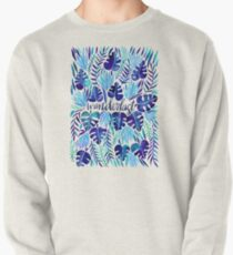 Tropical Wanderlust – Blue Pullover