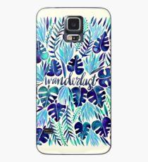 Tropical Wanderlust – Blue Case/Skin for Samsung Galaxy