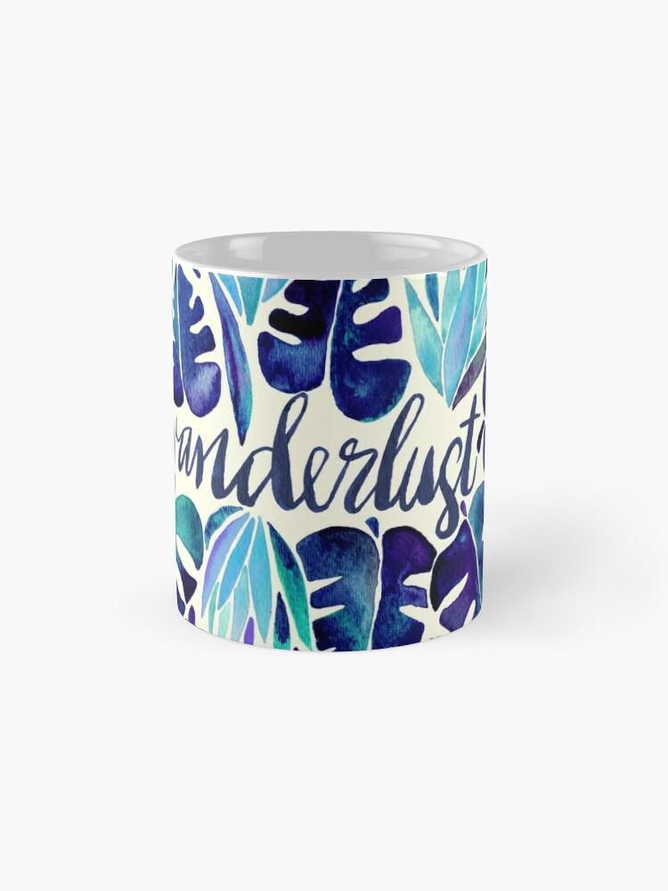 Alternate view of Tropical Wanderlust – Blue Mug