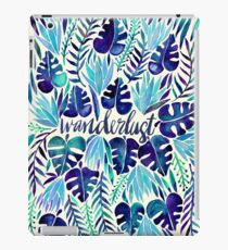 Tropical Wanderlust – Blue iPad Case/Skin