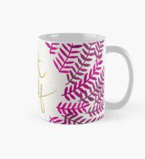 Behandle Yo Self - Gold & Pink Tasse (Standard)