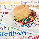 Birthday Cupcake Humor by Maria Dryfhout
