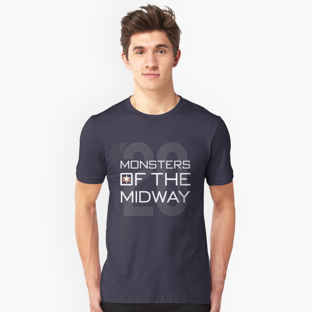 Monsters of the Midway Unisex T-Shirt Front