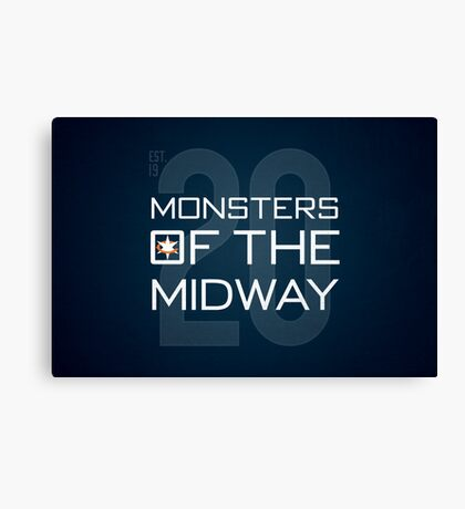 Monsters of the Midway Canvas Print