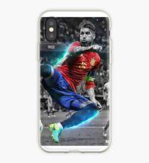 Sergio Ramos Spain Euro 2016 iPhone Case