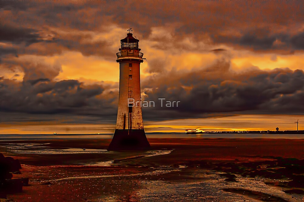 Leaving on the night tide. by Brian Tarr
