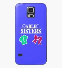 Funda/vinilo para Samsung Galaxy Logotipo de Able Sisters
