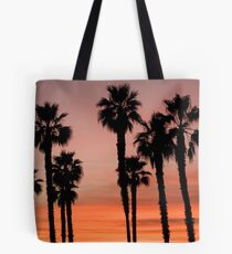 Palm Trees in the Sunset Tote Bag