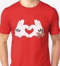 Minnie and Mickey Love Unisex T-Shirt